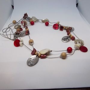 BOGO Long Two Strand Beaded Necklace